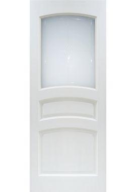 Двери из массива сосны - г.Поставы ПМЦ ДО №16 (белый лоск)
