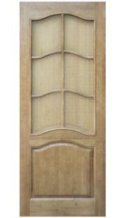 Двери из массива сосны - г.Поставы ПМЦ ДО №7 ( светлый лак)