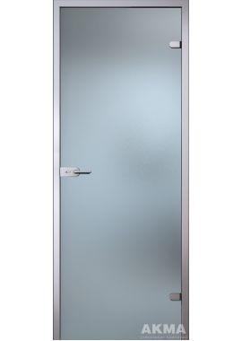 """Стеклянная межкомнатная дверь """"Лайт"""" (матовое бесцветное стекло)"""