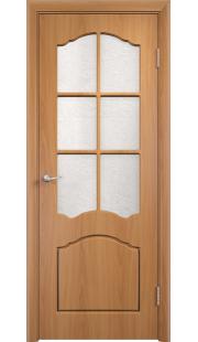 Дверь МДФ - Лидия ПО (Миланский орех)