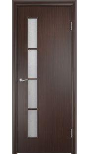 Дверь МДФ - С14 ПО (Венге)