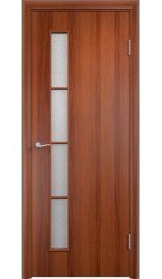 Дверь МДФ - С14 ПО (Итальянский орех)
