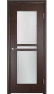 Дверь МДФ - С23 ПО (Венге)
