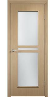 Дверь МДФ - С23 ПО (Беленый дуб)