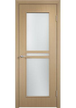 Дверь МДФ С23 ПО (цвет: беленый дуб)