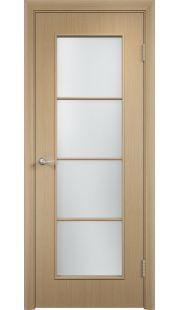Дверь МДФ - С8 ПО (Беленый дуб)