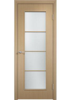 Дверь МДФ С8 ПО в цвете беленый дуб