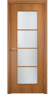 Дверь МДФ - С8 ПО (Миланский орех)