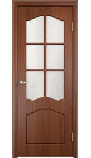 Дверь МДФ - Лидия ПО (Итальянский орех)