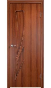 Дверь МДФ - С2 ПГ (Итальянский орех)