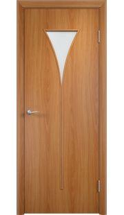 Дверь МДФ - С4 ПО (Миланский орех)