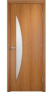 Дверь МДФ - С6 ПО (Миланский орех)