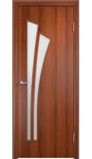 Дверь Одинцово - С7 ПО (Итальянский орех)