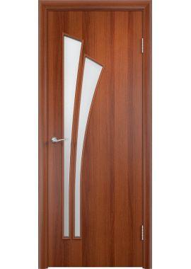 Дверь МДФ - С7 ПО (Итальянский орех)