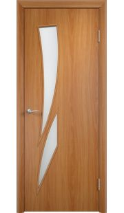 Дверь МДФ - С2 ПО (Миланский орех)