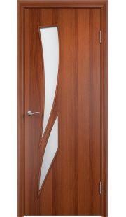 Дверь МДФ - С2 ПО (Итальянский орех)
