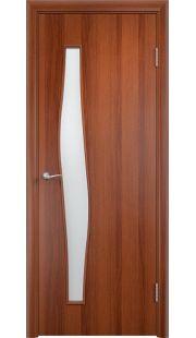 Дверь МДФ - С10 ПО (Итальянский орех)