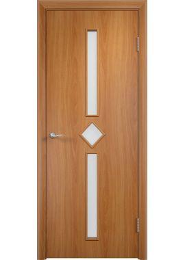 Дверь МДФ - С24 ПО (Миланский орех)