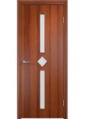 Дверь МДФ - С24 ПО (Итальянский орех)