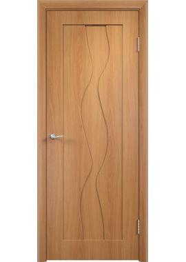 Дверь МДФ - Вираж ПГ (Миланский орех)