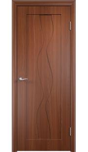 Дверь МДФ - Вираж ПГ (Итальянский орех)