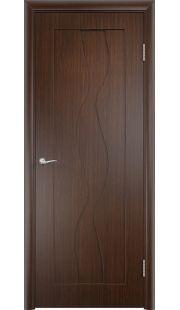 Дверь МДФ - Вираж ПГ (Венге)