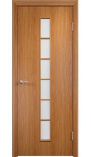 Дверь МДФ - С12 ПО (Миланский орех)