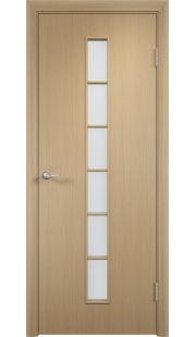 Дверь МДФ - С12 ПО (Беленый дуб)
