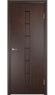 Дверь МДФ - С12 ПГ (Венге)