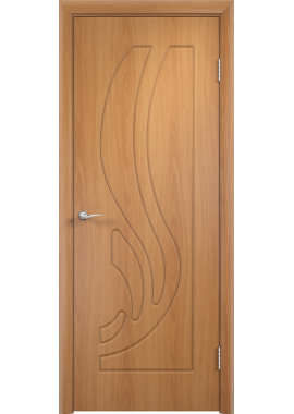 Дверь МДФ - Лиана ПГ (Миланский орех)