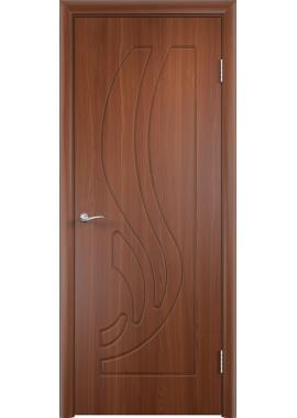Дверь МДФ - Лиана ПГ (Итальянский орех)