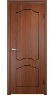 Дверь МДФ - Лидия ПГ (Итальянский орех)