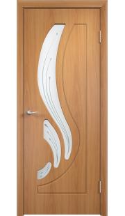 Дверь МДФ - Лиана ПО (Миланский орех)