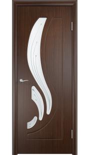 Дверь МДФ - Лиана ПО (Венге)
