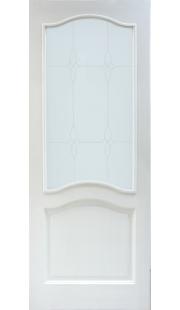 Двери из массива сосны - г.Поставы ПМЦ ДО №7 (белый лоск)