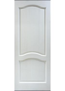 Двери из массива сосны - г.Поставы ПМЦ ДГ №7 (белый воск)