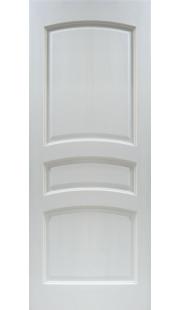 Двери из массива сосны - г.Поставы ПМЦ ДГ №16 (белый лоск)