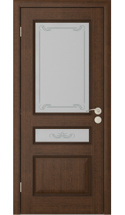 Дверь Юркас Вена ДО (Каштан)