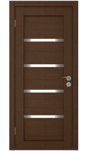 Дверь Юркас Квартет ЧО (Каштан)