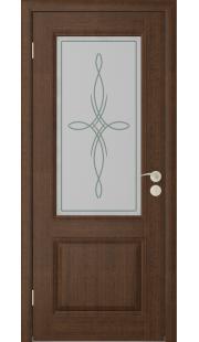 Дверь Юркас Шервуд 2 ДО (Каштан)