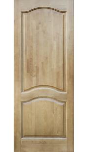 Двери из массива сосны - г.Поставы ПМЦ ДГ №7 ( светлый лак)