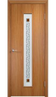 Дверь Одинцово - С17 (ф) квадрат (Миланский орех)