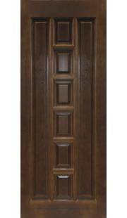 Двери из массива сосны - г.Поставы ПМЦ ДГ №11 (темный лак)
