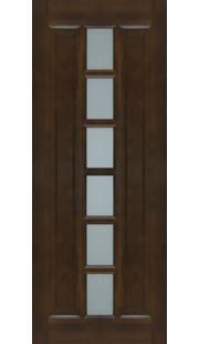 Двери из массива сосны - г.Поставы ПМЦ ДO №11 (темный лак)
