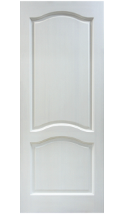 Двери из массива сосны - г.Поставы ПМЦ ДГ №7 (белый лоск)