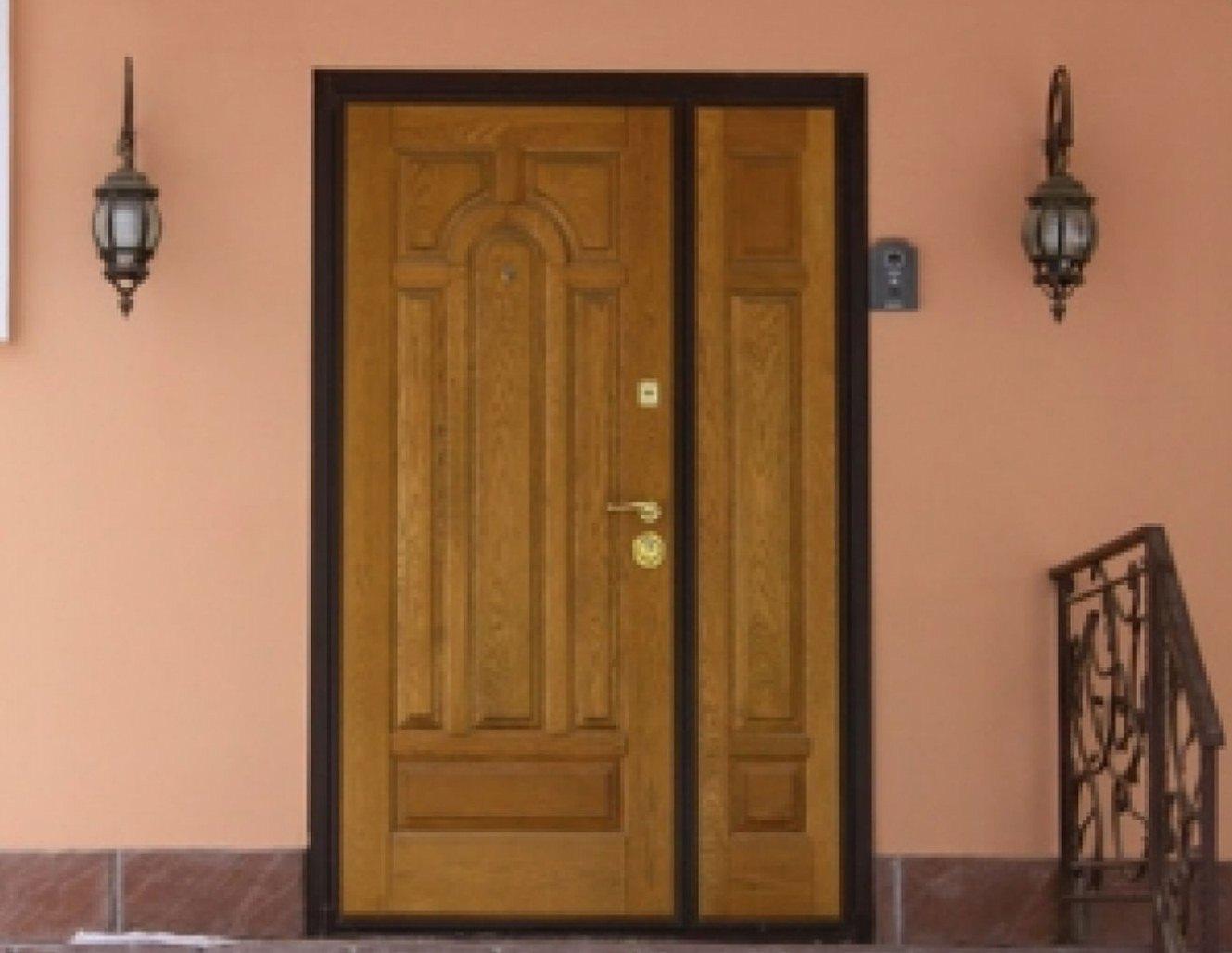 Двустворчатые входные двери - купить в Ростове-На-Дону